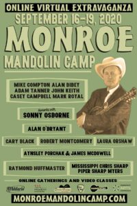 Monroe Mandolin Camp 2020